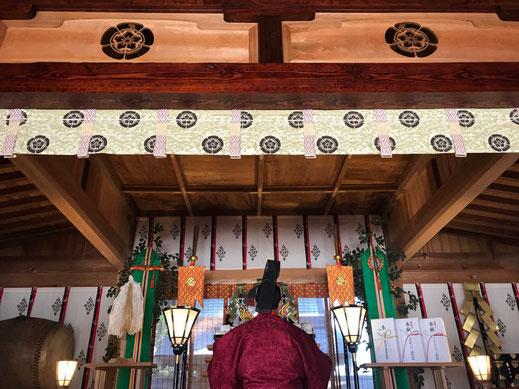 [御祈祷] 素鵞神社の御祈祷についてです