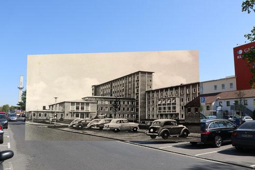 Das heute GPR - hier noch als Stadtkrankenhaus in den 60er Jahren