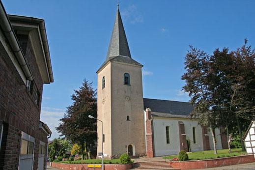 Beim Bau der Heiligenloher Kirche wurden die Maurer vom Leibhaftigen heimgesucht. Foto: © Burkhard Osterloh
