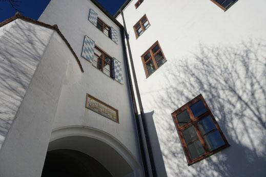 Schloss Starnberg am Starnbergersee in Bayern
