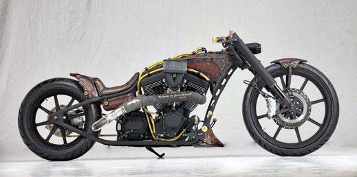 Custom Bike Einzelanfertigung mit Rev Tec Herz