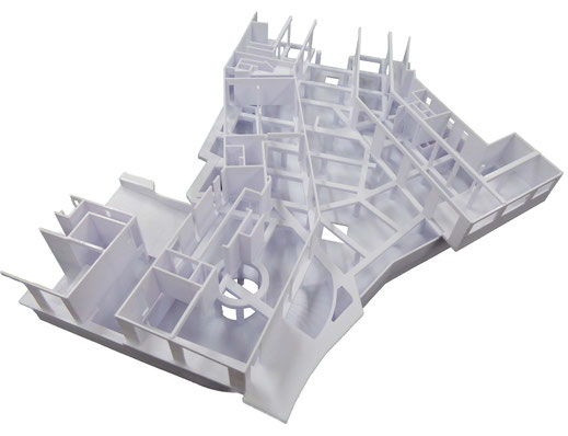3D-Druck Architekturmodell