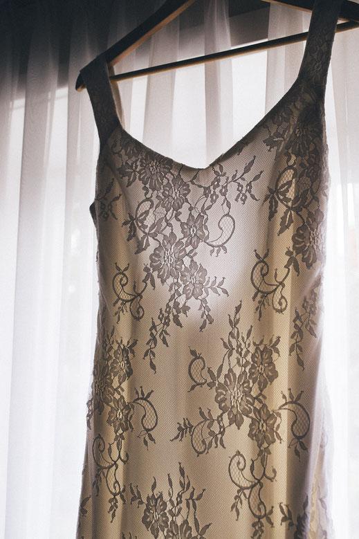Hochzeitskleid selbstgemacht