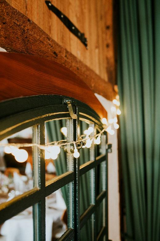 Hochzeitsdekoration Glühlampen