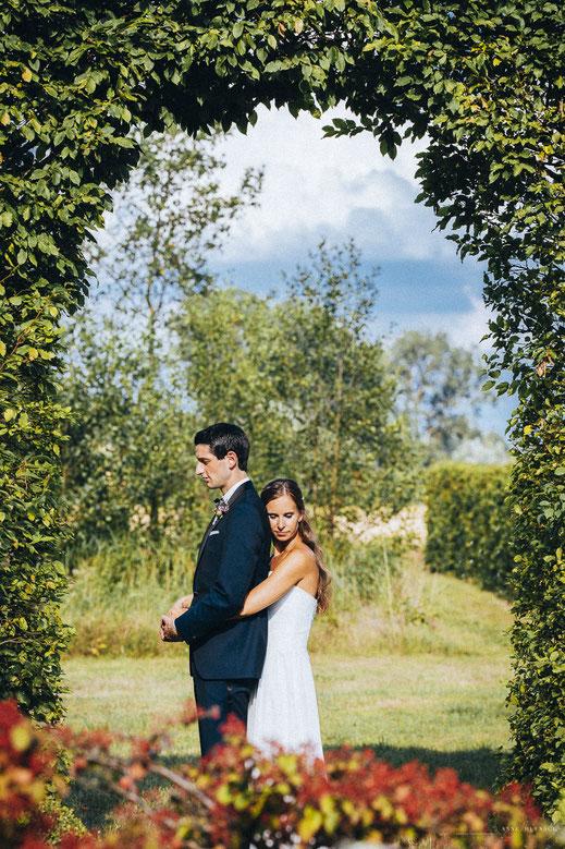 Hochzeitspaar Fotos Gut Bardenhagen von Fotografin Anne Hufnagl