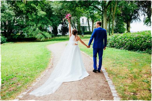 Hochzeit in der Villa im Heinepark / Fotografin: Anne Hufnagl
