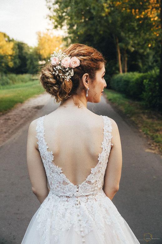 Brautstyling in Bremen Vintage / von Hochzeitsfotografin Anne Hufnagl