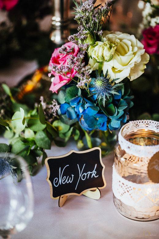 Inspiration Hochzeitsdeko Blumen Herbst Vintage