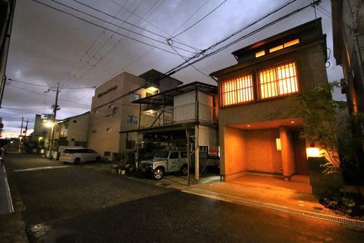 尼崎の3階建て狭小住宅
