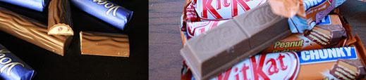 Produkttest - Schokolade - Riegel