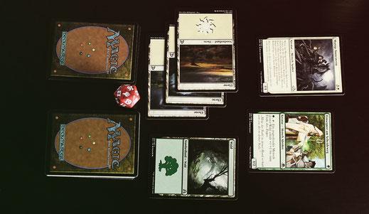Beispiel für einen Spielzug - Magic: The Gathering
