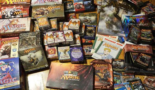 Magic Sammlung - ein kleiner Teil