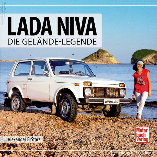Lada Niva - Die Gelände-Legende ; ISBN: 978-3-613-04317-6 ; *1