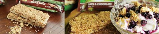 Produkttest - Müsli - Müsliriegel