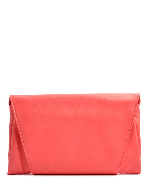 OSTWALD Bags . Finest Couture . Handcrafted Leatherbag . Clutch . Envelope Clutch . mustard . pink Clutch . Slow fashion