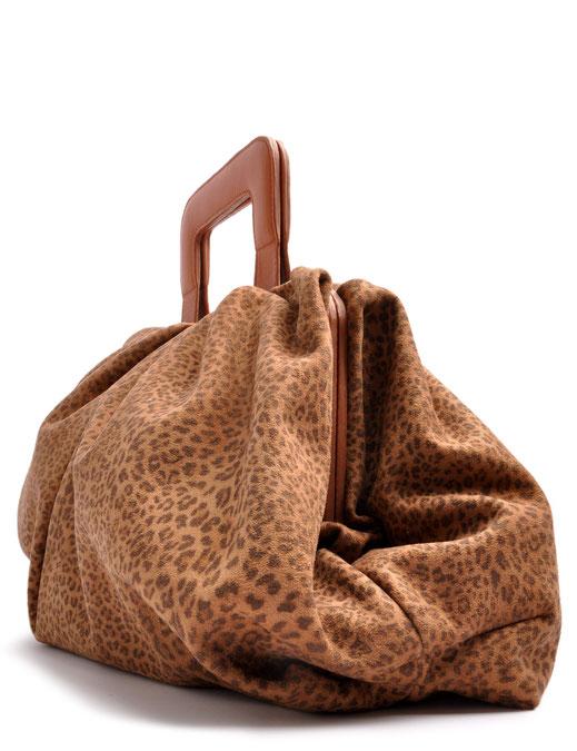 Genuine Italian Calf Leather I  Printed & Microsuede