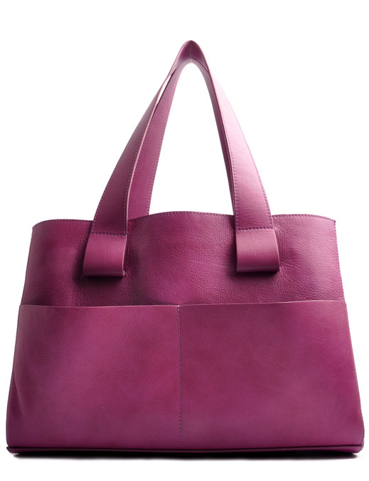 OSTWALD Bags . Shopper . pink  leather. Shop online . everyday bag .  Webshop