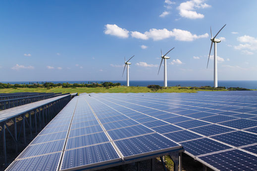 太陽光発電設備イメージ
