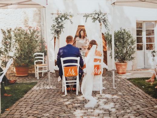 freie Hochzeitszeremonie in der Pfalz mit Nicole Decker-Paxton