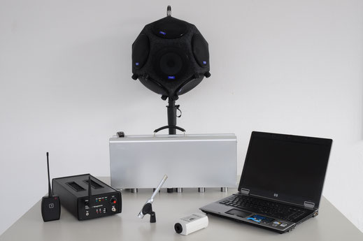 Messtechnik für Messungen zum Schallschutz
