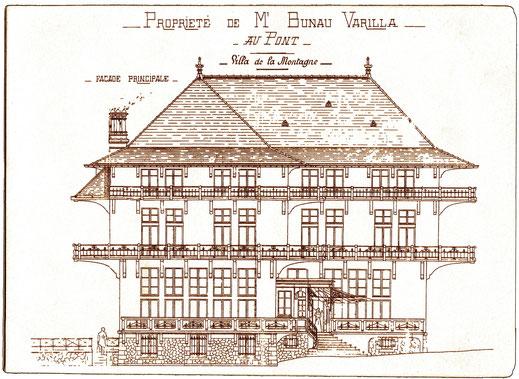 Le dessin raffiné de l'architecte Campiotti du Sentier