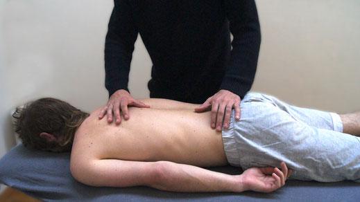 AOB - Allgemeine Osteopathische Behandlung der Wirbelsäule
