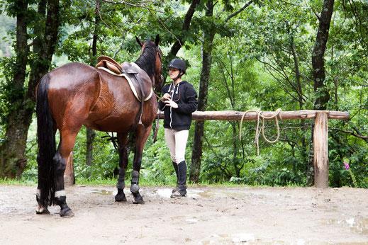 Balade à cheval - Ferme équestre des Mourenes