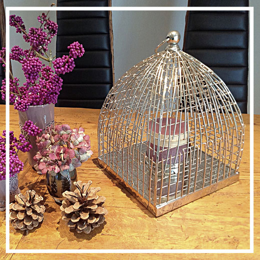 Kerzenständer Edelstahl - Geschenkideen und Dekorationsideen - Fink Living