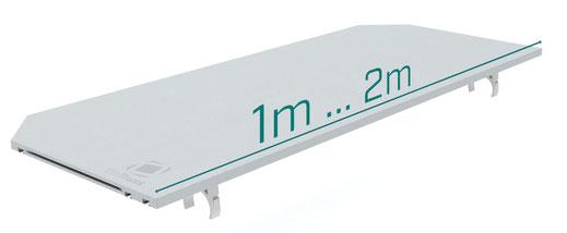 OnTruss EventBoard S050 / EventBoard S100 / EventBoard S100 | Plattenlänge: 50cm, 1m, 2m