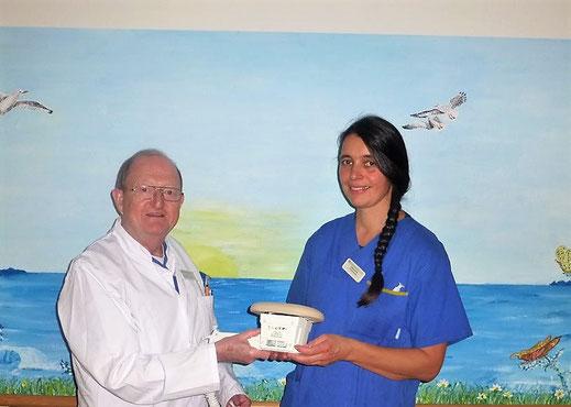 Das Vibrax-Gerät ist in der Palliativmedizin unverzichtbar - in der Sterbebegleitung sowie auch beim Sterbefasten.