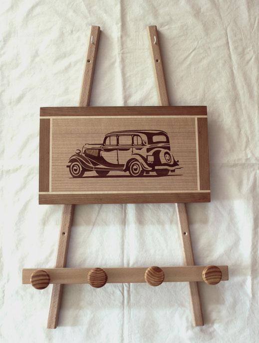 cadeau de noël pour passionné de vielle voiture
