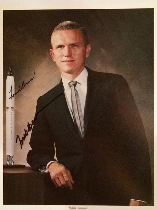 Autograph Frank Borman Autogramm