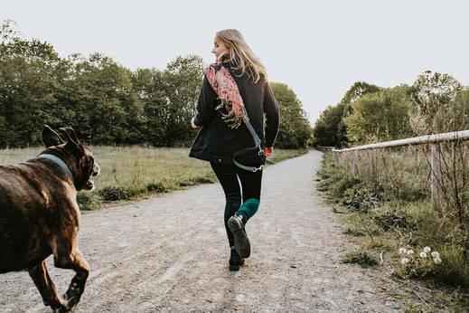 Shooting mit Hund in Berlin Schöneweide - Wuhlheide // Hundefotografie