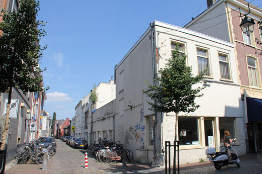 Industriele gebouwen Bottelstraat Nijmegen CHV graanmaalderij pakhuis graansilo