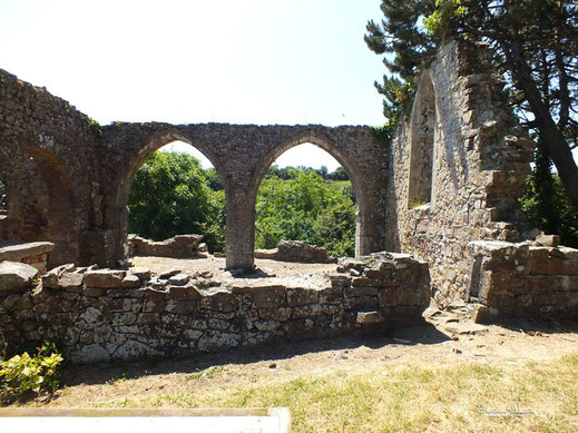 La nef - l'arc roman - les arcs brisés