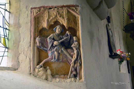 Saint Martin partage son manteau