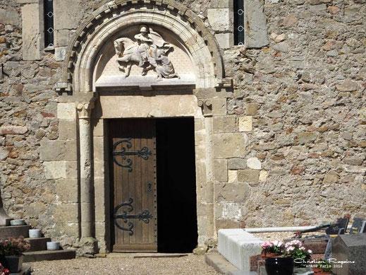 Porte du midi. La charité Saint Martin.