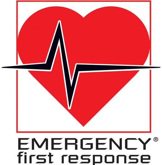 EFR, Emergency First Response Logo, soin primaire et secondaire.