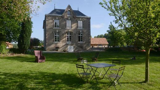 Parc du Gîte et des chambres d'hôtes du Manoir de Chaussoy - Somme - Picardie