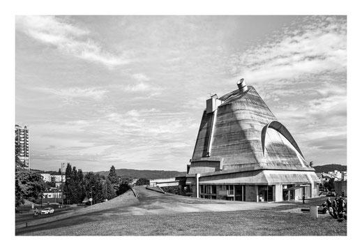 Firminy : Eglise Saint Pierre - Le Corbusier