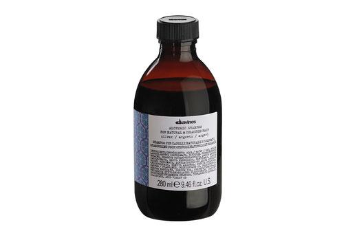 Davines ALCHEMIC SHAMPOO SILBER Farbshampoo Intensivierung platinblonder grauer weißer Haarfarbe