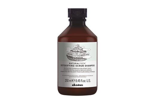 Davines Naturaltech Detoxifying Scrub Shampoo revitalisierend Peeling