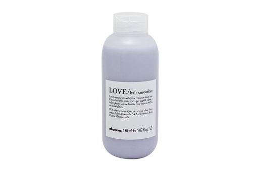 Davines LOVE/ SMOOTHING HAIR SMOOTHER beruhigend Leave-in Creme krauses widerspenstiges Haar