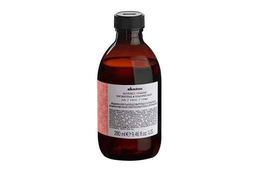Davines ALCHEMIC SHAMPOO ROT Farbshampoo Intensivierung roter oder mahagonifarbener Haarfarbe
