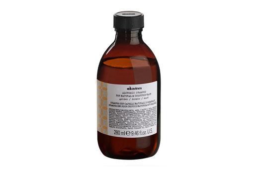Davines ALCHEMIC SHAMPOO – GOLD  Farbshampoo Intensivierung  goldblond honigblonder Haarfarbe