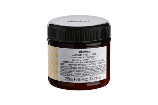 Davines ALCHEMIC CONDITIONER GOLD Farbconditioner goldblond honigblondes Haar intensiviert