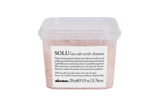Davines Essential Haircare Solu Sea Salt Scrub Cleanser Shampoo