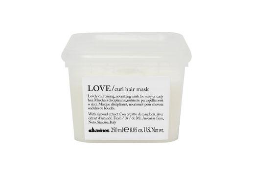 Davines LOVE/ CURL HAIR MASK zähmend nährend Haarmaske welliges lockiges Haar
