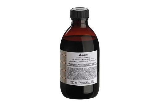 Davines ALCHEMIC SHAMPOO SCHOKOLADE  Farbshampoo Intensivierung dunkelbrauner schwarzer Haarfarbe