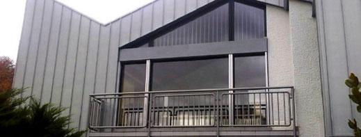 Bild zum Thema Fassadenverkleidung der Peter Fleschhut Spenglerei GmbH in 64658 Fürth, Odenwald